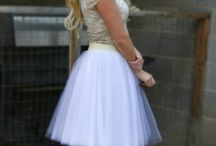 Stylish Tulle & Tutus / My obsession with tutus has got me eating to wear them even outside of ballet!!!!