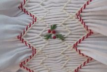 Christmas Smocking / Ideas and patterns for Christmas Smocking and sewing.
