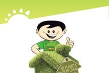 Campaña Green / El Planeta es Nuestra Casa, aprendamos a Reciclar, Reutilizar, Reducir ¡Juntos!... para vivir mejor y en armonia con el ambiente / by La Curacao