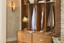 Entryway furniture and décor. / The entryway should be seen not as a way to come and go from your home, but as a way to make yourself and your guests feel welcome and invited.