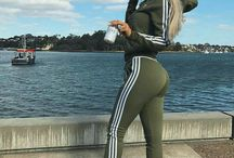 chicks in adidas