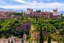 Travelling in Granada, Spain.
