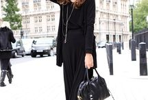Black IS the NEW Black!  / Timeless, chic and classic.... Black is here to stay!!