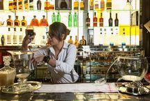 Le Voyage by Natalia García / Le Voyage (Tequila Don Julio blanco y Gran Marnier Rouge) es un ponche inspirado en Boca Chica y en nuestra forma de ver la coctelería