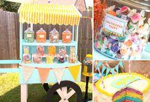 Parties : Backyard Carnival