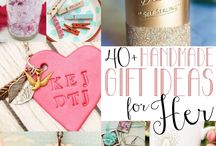 Handmade Gifts for Her / A collection of handmade gift ideas for women.