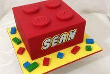 Wesley's Lego Cake