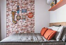 Quarto de Menino / Veja lindos modelos de quarto de bebe menino e também quarto de bebe menina. Ideias de quarto para menino, decoração de quarto de menino e decoração para quartos de menino. Veja lindas fotos de quarto de menino. Aproveite! #quartodemenino #decoracaoquartodemenino #modelosdequartodemenino #decoracaoearquitetura