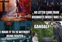 Movies and TV / Harry Potter, Disney, The Walking Dead, Lord of The Rings