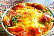 Veggie Egg dishes