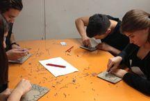 Özgün baskı resim : Linolyum Workshop