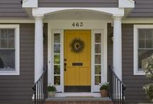 Front Door Decor / by Wynema Clark