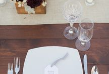 table settings / by Allyson Magda