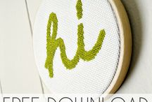 Cross stitching ain't for quitters / by Kitty Pittman
