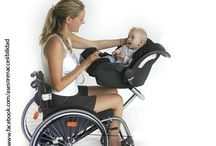 Parenting on Wheels / Pins we love for parents with spinal cord injuries. See awesome videos at SPINALpedia.com - 4,000+ organized spinal cord injury videos.