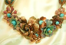 Mixed Media Jewelry Collage / How far can I go in my designs and wildness???? Only time will tell.  I am on a journey!