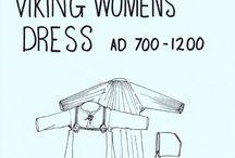 Viking kvinne