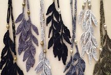 knitted jewellery