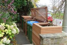 Ideas for attractive recycling area