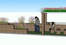 PARK yourself and LET nature be..... / My parklet design for urban spaces...