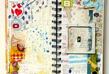Paper Arts - altered, journals,books,tapestry / by Mary Kay