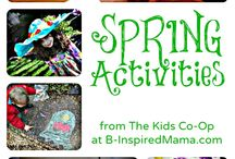 Spring Activities / Some pins may contain activities that are not appropriate for children under 2 1/2 years old.