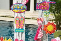 Pool party / Fun and colorful pool party ideas to help you plan a celebration that's sure to be a splash!
