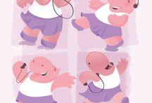 I love Hippos / by Steph