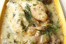 kurczak w sosie koperkowym