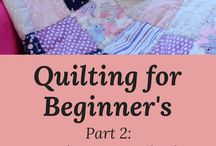 baby quilt step by step