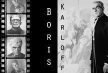 Memories of Boris  / October is Boris Karloff month @ the Library. This board is dedicated to the memory of Boris Karloff. It includes images from Sara Karloff's private collection of her father's memorabilia.