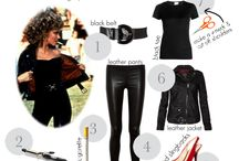 Grease / Variety of ideas to use for play, parties, costumes, props.