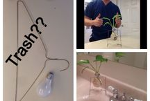 Light Bulb Vase / Recycled light bulb into vase