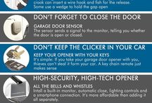 Homes - Security Tips / Protect your investment from intruders! #HomeSecurity #BeSafe