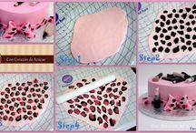 Dekorace na dorty / Dekorace dortů