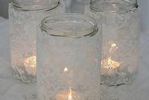 ΒΑΖΑ ΚΑΙ ΜΠΟΥΚΑΛΙΑ (Jars and bottles) / ΙΔΕΕΣ ΓΙΑ ΔΙΑΚΟΣΜΗΣΗ ΣΕ ΒΑΖΑ ΚΑΙ ΜΟΥΚΑΛΙΑ