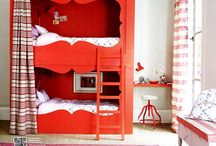 Colorful children's rooms / by Corinne Kowal @emeraldgreeninteriors.com