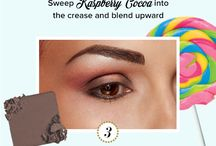 kandee how to apply eye make up