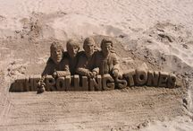 Amazing Beach Sand Art / Sculptures made of sand from the Beach