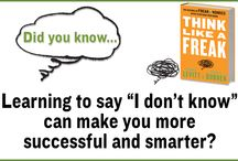 Think Like a Freak / by HarperCollins