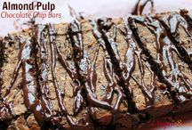 almond milk pulp recipes