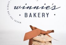 WinniE's Bakery Branding / Our original images and graphic design