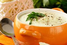 I LOVE SOUP / Some of my favourite recipes - all accompanied by freshly baked rolls