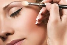 Eyeshadow and hairspray