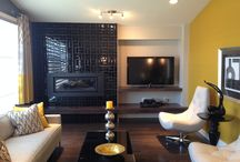141 Drew St - South Pointe - Hilton Homes / Showhome featuring Sirius 42 Fireplace