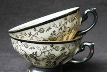 Silver & porcelain