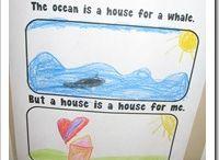 preschool habitats / by Lindsey Conrad