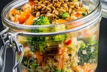 entrées salades