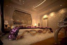 Zlatá spálňa - Gold bedroom