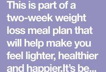 Weight watchers 2 week program